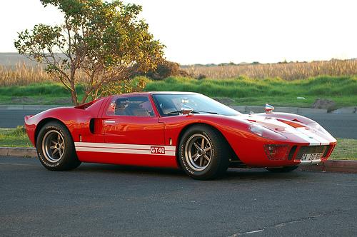 フリー画像| 自動車| スポーツカー| フォード/Ford| フォード GT40| Ford GT40| アメ車|
