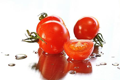 フリー画像|食べ物|野菜|トマト|プチトマト|