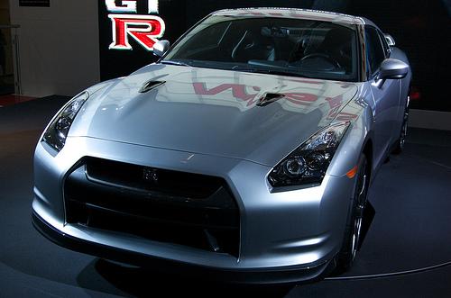 フリー画像| 自動車| 日産/Nissan| 日産 スカイライン| Nissan GT-R R35| 日本車|