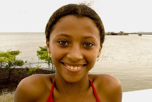 フリー画像| 人物写真| 子供ポートレイト| 少女/女の子| 外国の子供| ブラジル人|