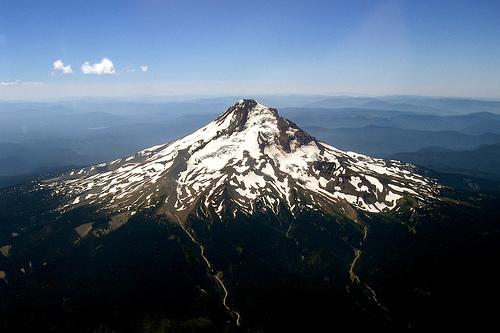 フリー画像| 自然風景| 山の風景| ジェファーソン山| アメリカ風景|