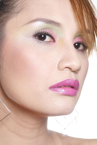 フリー画像| 人物写真| 女性ポートレイト| アジア女性| フィリピン人| 化粧/メイク|