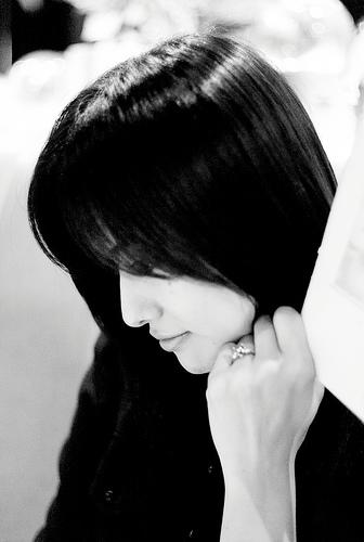 フリー画像| 人物写真| 女性ポートレイト| アジア女性| 日本人| 横顔| 黒髪| Mizuka|