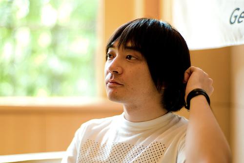 フリー画像| 人物写真| 男性ポートレイト| 日本人| 小山田圭吾| コーネリアス| 芸能人|