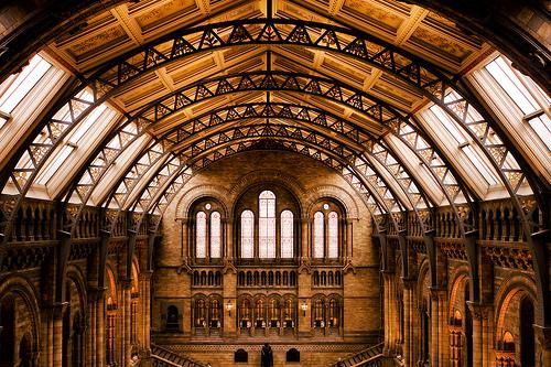 フリー画像  人工風景  建造物/建築物  インテリア  美術館/博物館/図書館  イギリス風景  ロンドン 