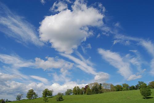 フリー画像| 自然風景| 空の風景| 平原の風景|