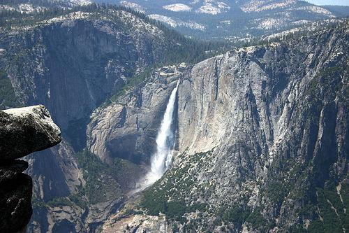 フリー画像|自然風景|滝の風景|岩壁の風景|ヨセミテ国立公園|アメリカ風景|カリフォルニア|