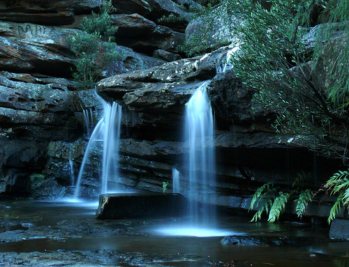 フリー画像| 自然風景| 滝の風景| 森林/山林|