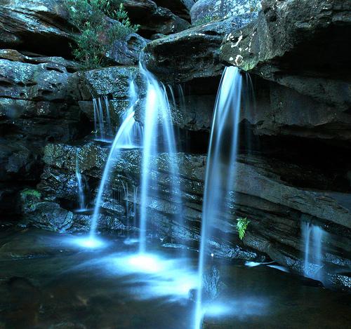 フリー画像| 自然風景| 滝の風景|