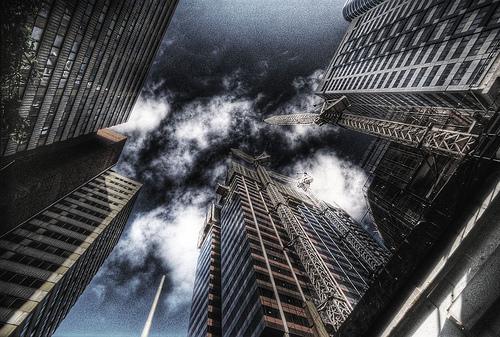 フリー画像| 人工風景| 建造物/建築物| 街の風景| ビルディング| オーストラリア風景| メルボルン|