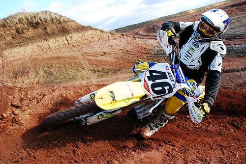 フリー画像| バイク/オートバイ| モトクロス|