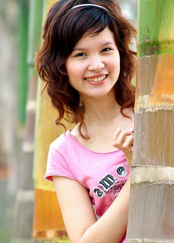 フリー画像| 人物写真| 女性ポートレイト| アジア女性| 笑顔/スマイル|