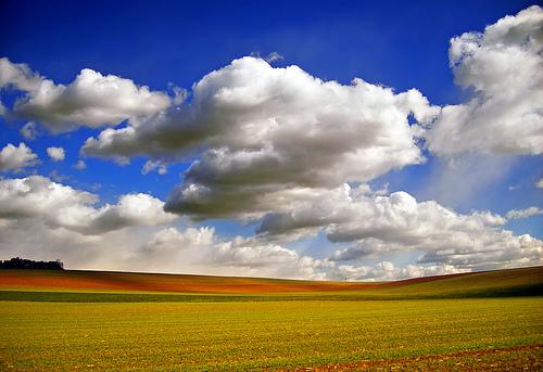 フリー画像|自然風景|平原の風景|空の風景|雲の風景|