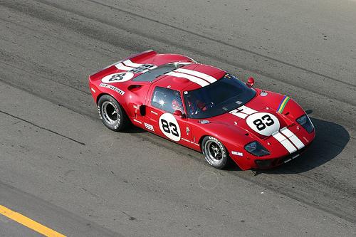 フリー画像| 自動車| レーシングカー| フォード/Ford| フォード GT40| Ford GT40| アメ車|