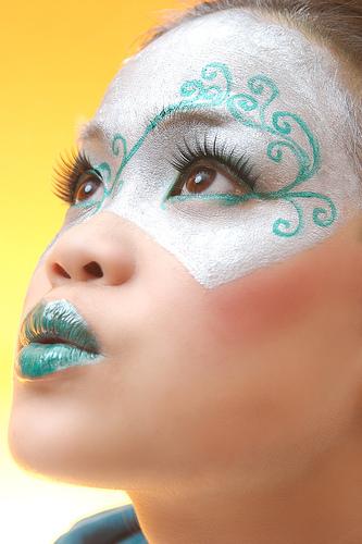 フリー画像| 人物写真| 女性ポートレイト| アジア女性| 化粧/メイク|