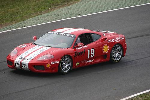 フリー画像| 自動車| レーシングカー| フェラーリ/Ferrari| フェラーリ F430| Ferrari F430| イタリア車|