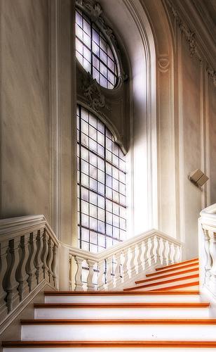 フリー画像| 人工風景| 建造物/建築物| インテリア| 階段| HDR画像|