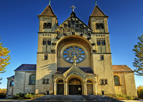 フリー画像| 人工風景| 建造物/建築物| 教会/聖堂| 聖エリギウス教会| ドイツ風景|