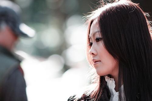 フリー画像| 人物写真| 女性ポートレイト| アジア女性| 中国人| 横顔|
