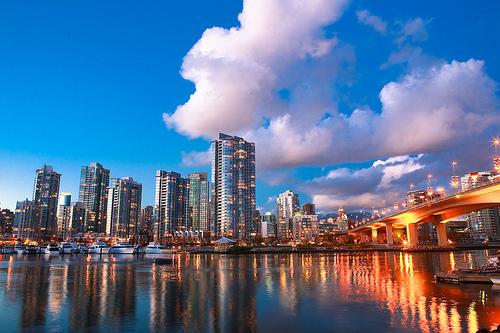フリー画像| 人工風景| 建造物/建築物| 街の風景| カナダ風景| バンクーバー|