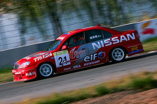 フリー画像| 自動車| レーシングカー| 日産/Nissan| 日産 サニー| Nissan Sunny| 日本車|