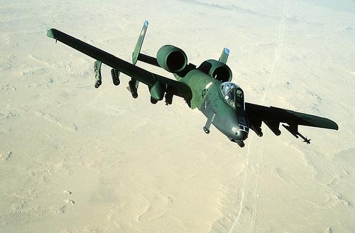 フリー画像| 航空機/飛行機| 軍用機| 攻撃機| A-10 サンダーボルトII| A-10A Thunderbolt II|
