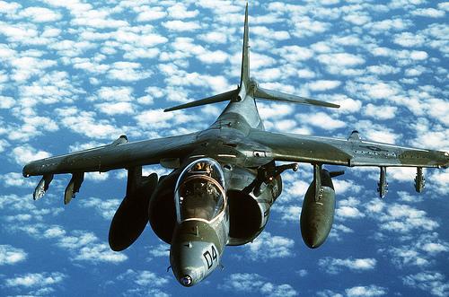フリー画像| 航空機/飛行機| 軍用機| 戦闘爆撃機| AV-8B ハリアー II| AV-8B Harrier II|