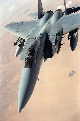 フリー画像| 航空機/飛行機| 軍用機| 戦闘機| F-15 イーグル| F-15 Eagle|