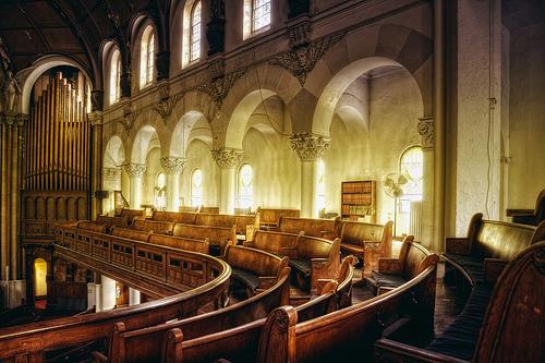 フリー画像| 人工風景| 建造物/建築物| インテリア| 教会/聖堂| HDR画像| アメリカ風景| ニューヨーク|