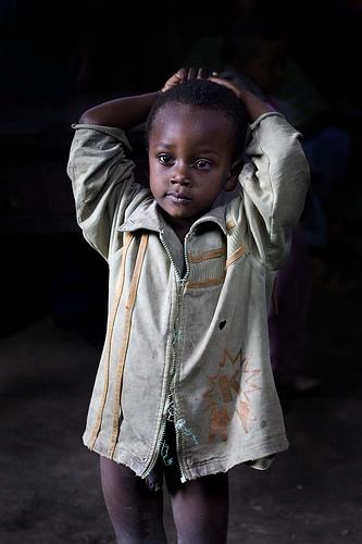 フリー画像  人物写真  子供ポートレイト  外国の子供  少年/男の子  アフリカの子供  エチオピア人 