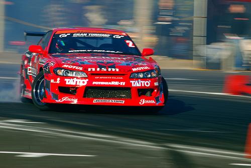 フリー画像| 自動車| スポーツカー| 日産/Nissan| 日産 シルビア| Nissan Silvia S15| 日本車| ドリフト|