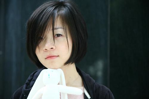 フリー画像| 人物写真| 女性ポートレイト| アジア女性| ショートヘアー| 黒髪| 台湾人|