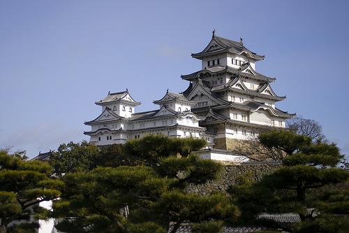 フリー画像| 人工風景| 建造物/建築物| 城/宮殿| 姫路城| 世界遺産/ユネスコ| 日本風景|     フリー素材|