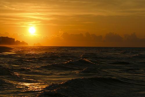 フリー画像| 自然風景| 空の風景| 海の風景| 朝日/朝焼け| アメリカ風景|      フリー素材|