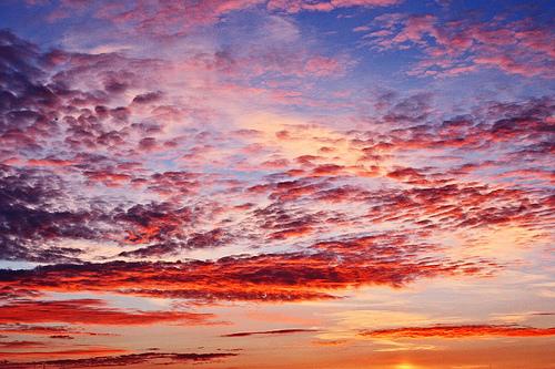 フリー画像| 自然風景| 空の風景| 雲の風景| 朝日/朝焼け|       フリー素材|