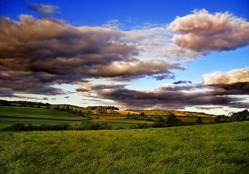 フリー画像| 自然風景| 草原の風景| 雲の風景| 丘の風景| アメリカ風景|      フリー素材|