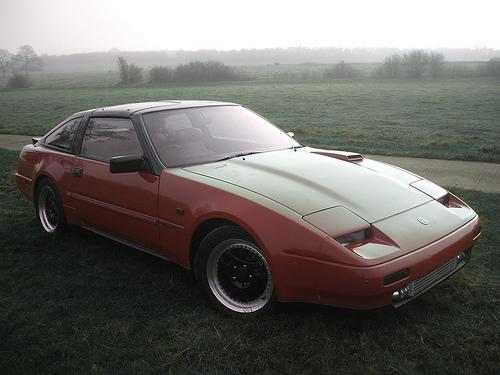 フリー画像| 自動車| スポーツカー| 日産/Nissan| 日産 フェアレディZ| Nissan 300ZX| 霧/靄|     フリー素材|