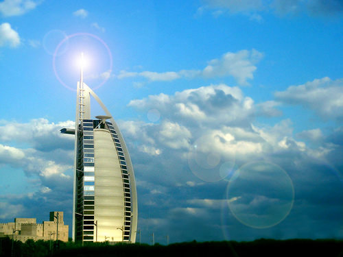 フリー画像| 人工風景| 建造物/建築物| ブルジュ・アル・アラブ| ビルディング| ドバイ| ドバイ風景|     フリー素材|