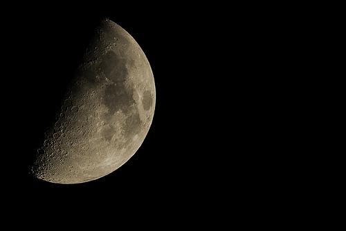 フリー画像| 自然風景| 月の風景| 空の風景| 夜空の風景| 夜景|