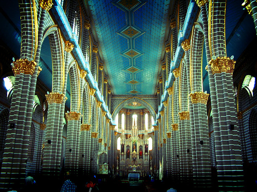 フリー画像  人工風景  建造物/建築物  教会/聖堂  インテリア 