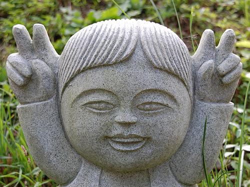 フリー画像  人工風景  彫刻/彫像  ピース         フリー素材 