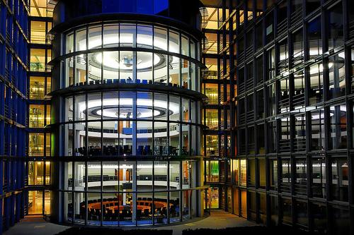 フリー画像| 人工風景| 建造物/建築物| 夜景| ドイツ風景| ベルリン|