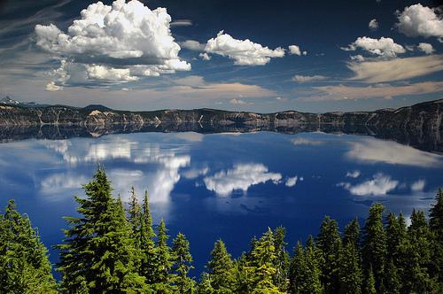 フリー画像| 自然風景| 湖の風景| クレーター・レーク国立公園| アメリカ風景|       フリー素材|