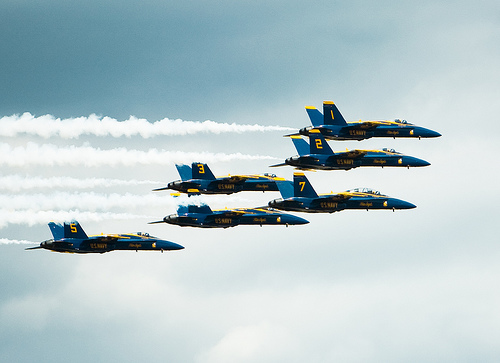 フリー画像| 航空機/飛行機| 戦闘機| ブルーエンジェルス| F/A-18 ホーネット| F/A-18 Hornet|