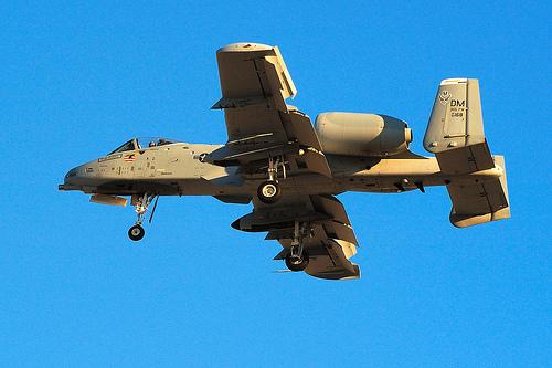 フリー画像| 航空機/飛行機| 軍用機| 攻撃機| A-10 サンダーボルトII| A-10 Thunderbolt II|