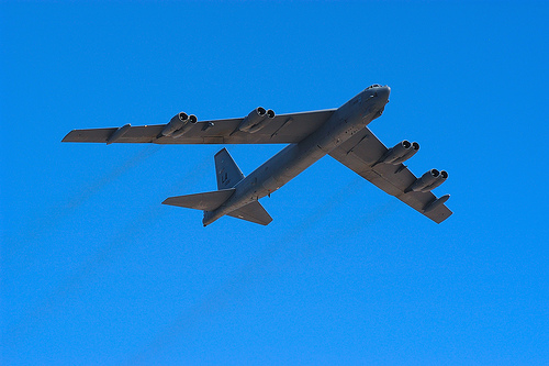 フリー画像| 航空機/飛行機| 軍用機| 爆撃機| B-52 ストラトフォートレス| B-52H Stratofortress|
