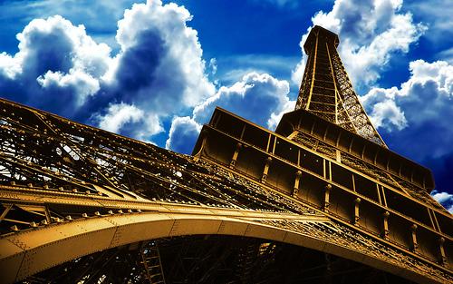 フリー画像| 人工風景| 建造物/建築物| 塔/タワー| エッフェル塔| フランス風景| パリ|
