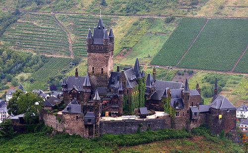 フリー画像  人工風景  建造物/建築物  城/宮殿  ドイツ風景 
