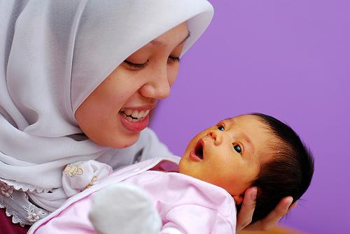 フリー画像| 人物写真| 一般ポートレイト| 親子/家族| 女性ポートレイト| アジア女性| 子供ポートレイト| 赤ちゃん| マレーシア人|
