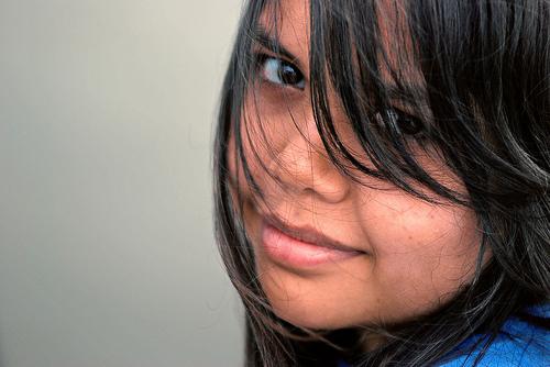 フリー画像| 人物写真| 女性ポートレイト| アジア女性| マレーシア人| 黒髪|